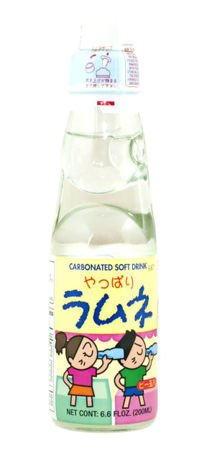 Ramune oranżada japońska 200ml Crown