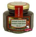 Krem klonowo - truskawkowy. Maple Strawberry Spread 110ml Nokomis