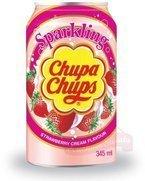 Chupa Chups truskawkowo-śmietankowy