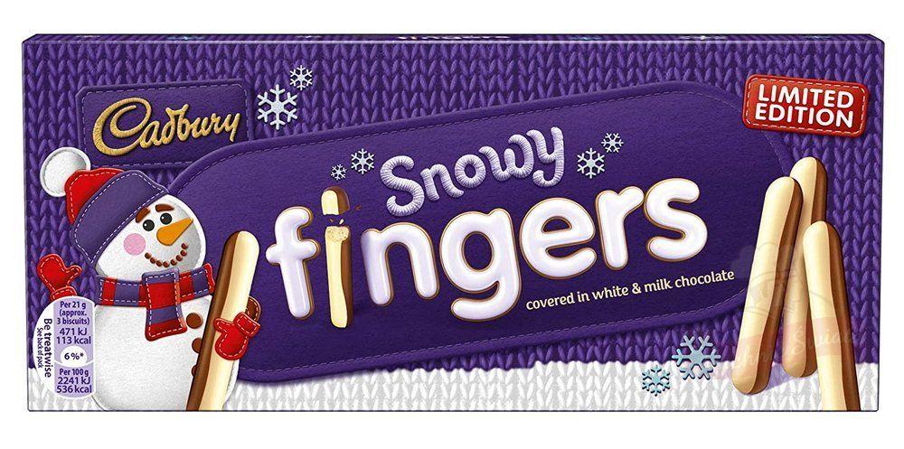snowy fingers