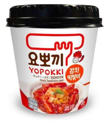 Kimchi Topokki