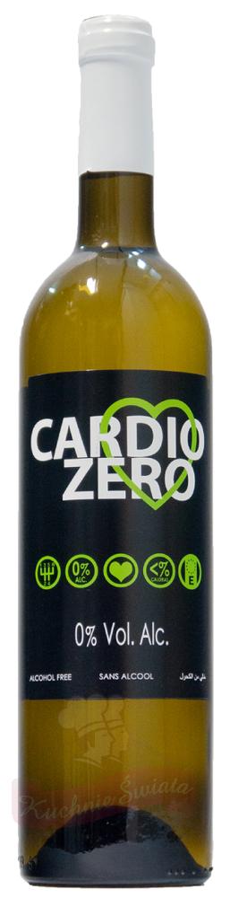 Wino bezalkoholowe Cardio Zero Blanco