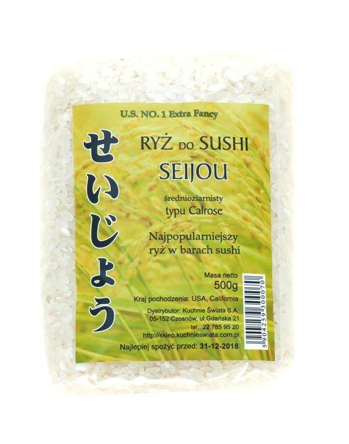 Ryz Do Sushi Calrose Seijou 500g Katalog Produktow Ryz Do
