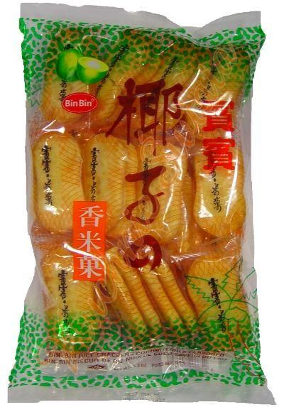 rice crackers binbin