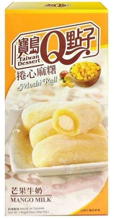 Taiwan Mochi milk roll