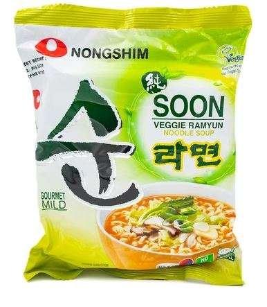 Soon Veggie Ramyun Noodle Soup nongshim