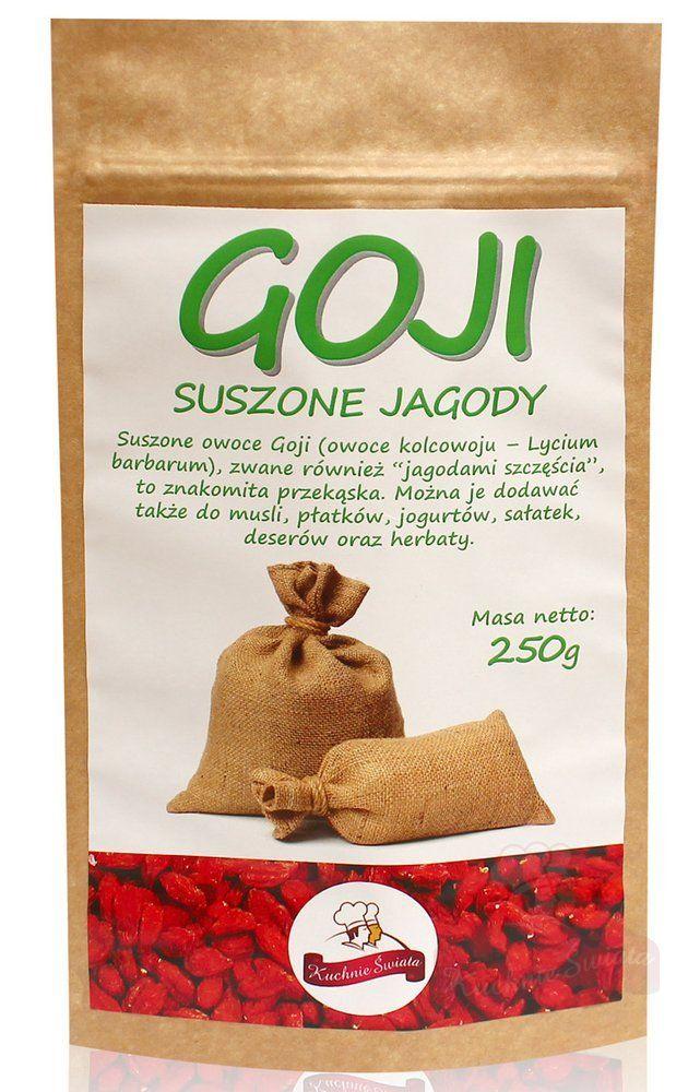 Jagody Goji suszone
