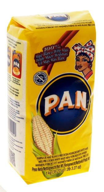 biała mąka kukurydziana