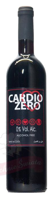 Wino bezalkoholowe Cardio Zero Red
