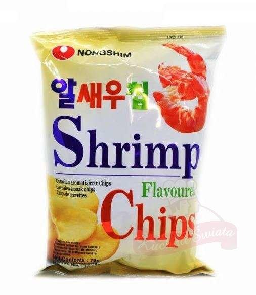 Shrimp flavored chips 75g