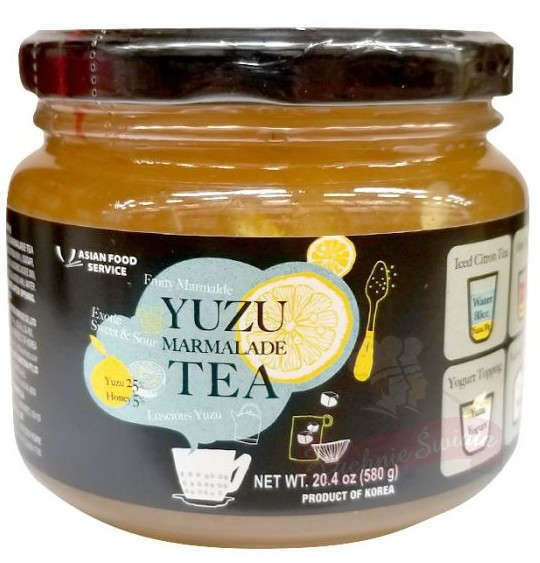 korean yuzu marmalade