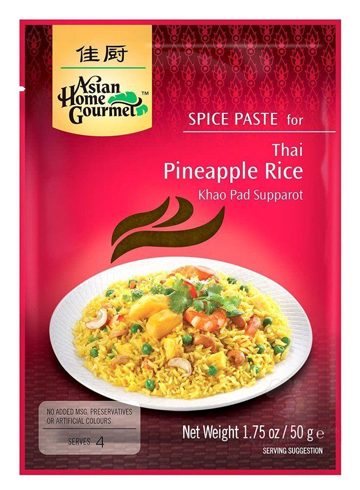 smażony ryż z ananasem