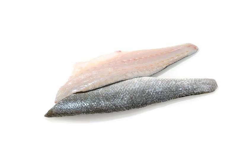 Sea bass fillets skin on, boneless