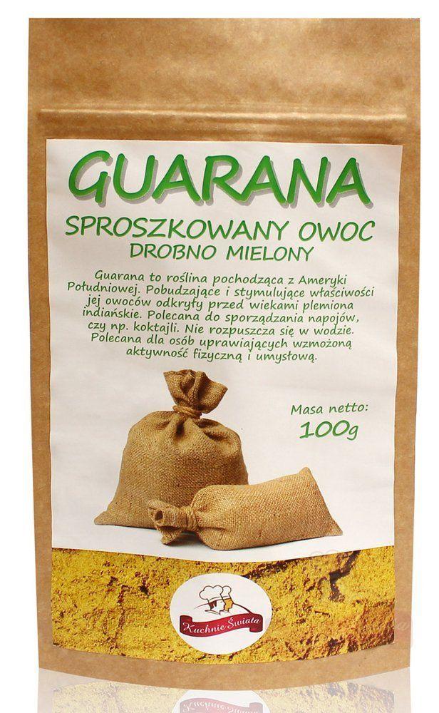 Guarana sproszkowany owoc