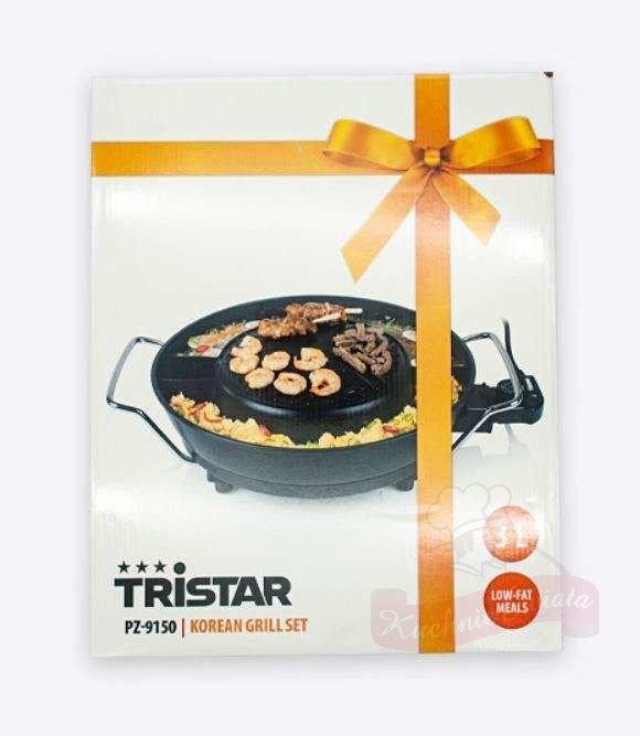 Tristar grill set