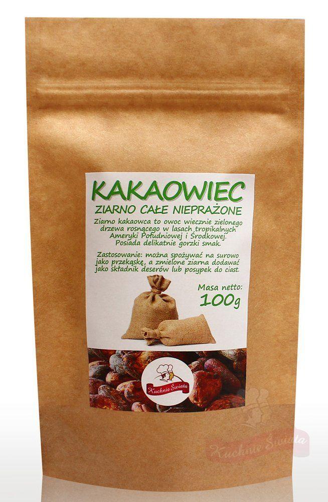 Ziarno kakao całe