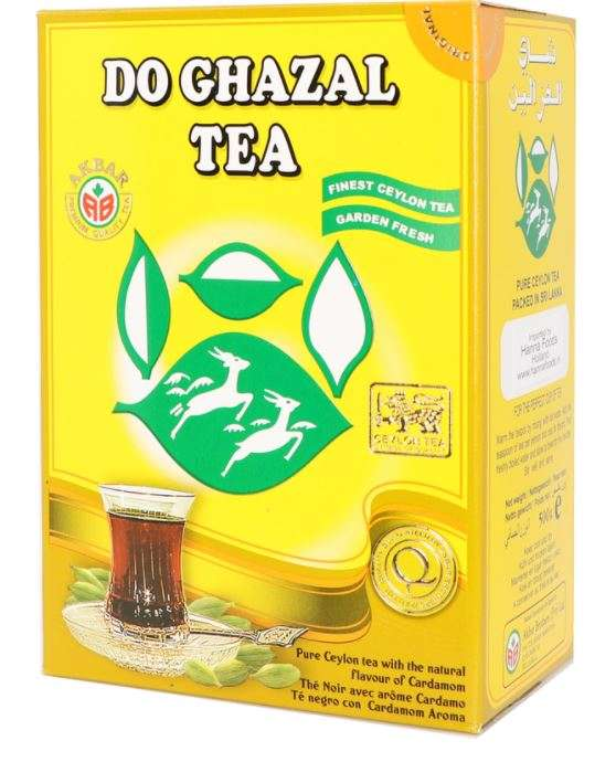 Pure Ceylon tea with the natural flavour of cardamom