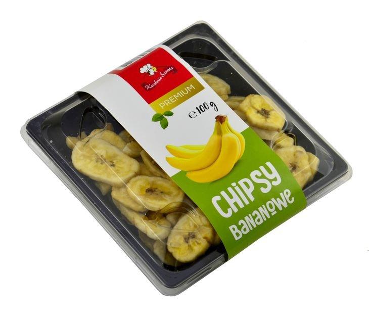 Chipsy Bananowe 100g Ks
