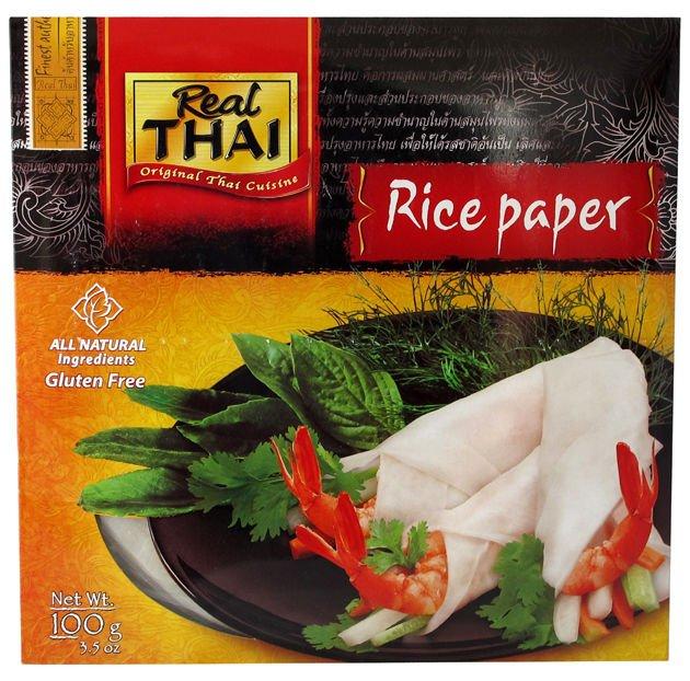 Papier ryżowy okrągły