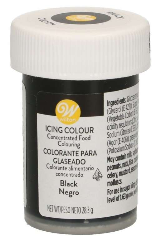 icing colour black wilton