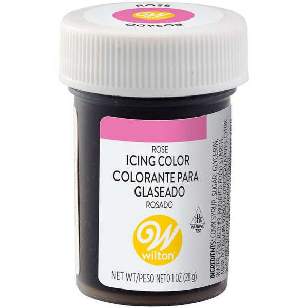 icing colour pink wilton