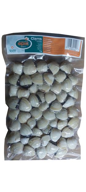frozen clams