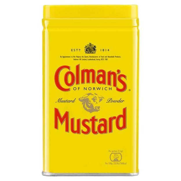 Musztarda w proszku Colman