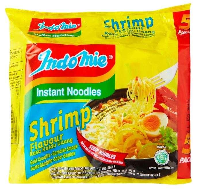 Instant noodles Shrimp flavour