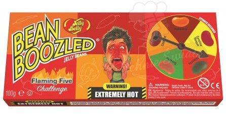 Fasolki Bean Boozled Flaming Five Ruletka 100g Jelly Belly