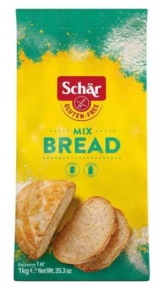 Mix B, Bread-Mix mąka do wypieku chleba 1kg. Schar