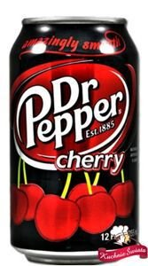 Dr. Pepper Cherry 355ml Oryginalny z USA