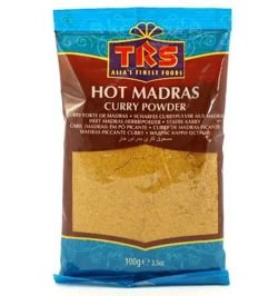 Hot Madras Curry 100g TRS