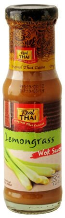 Tajski Sos trawa cytrynowa do Woka 150ml Real Thai Lemongrass Wok Sauce