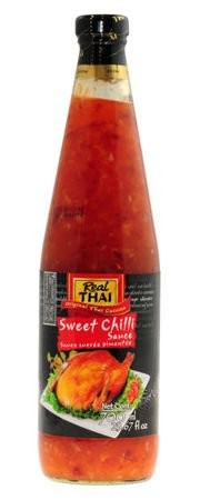 Sos Sweet Chilli, słodko-pikantny 700ml Real Thai