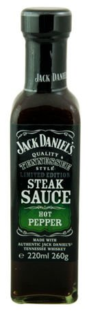Jack Daniel's Hot Pepper Steak Sauce 260g