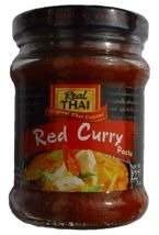 Czerwona pasta curry 227g. Real Thai