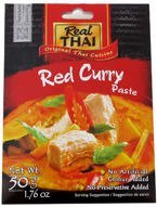 Czerwona pasta curry 50g. Real Thai
