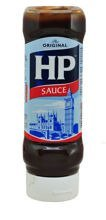 HP Brown Sauce Top down 450g