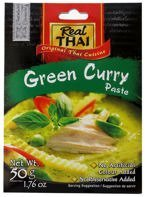 Zielona pasta curry 50g. Real Thai
